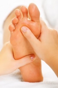 reflexology foot tranquility small1 199x300 Fertility Reflexology